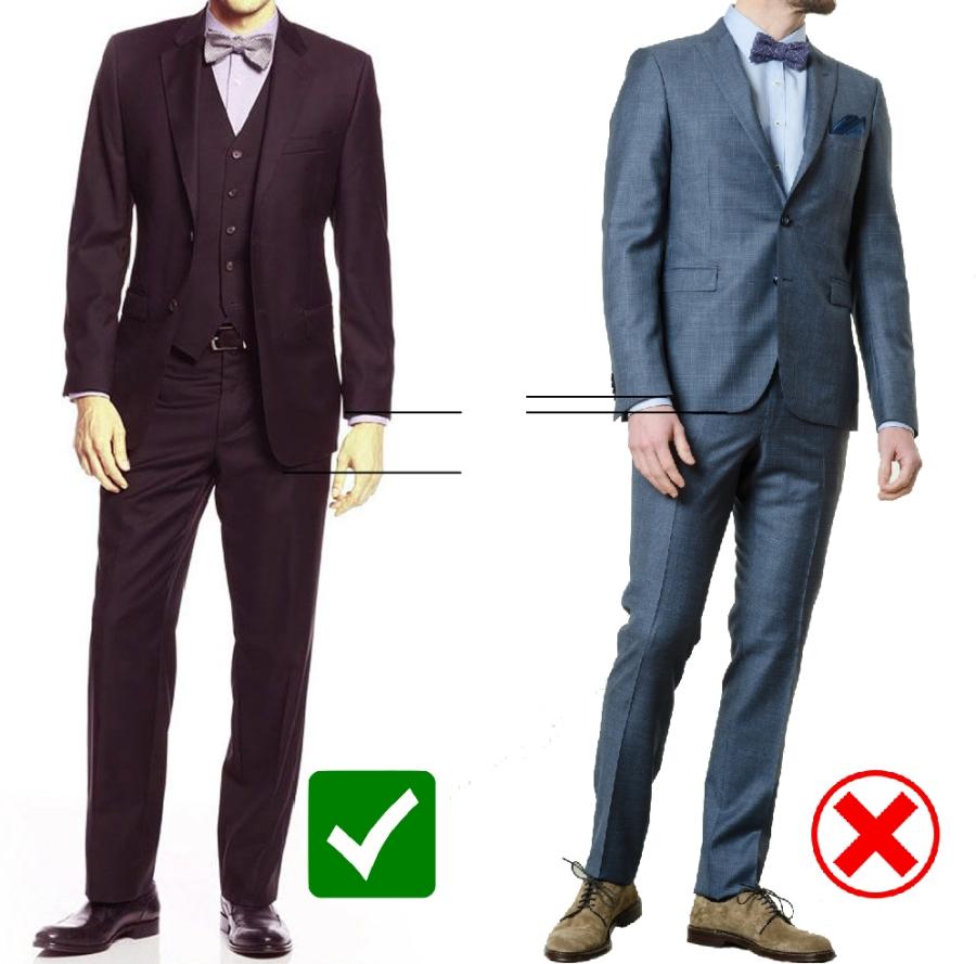 correct jacket length-100
