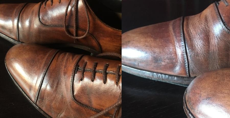deformed shoe-100