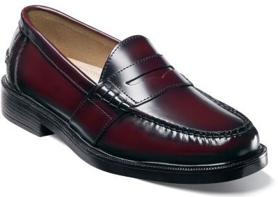 loafers burgundy