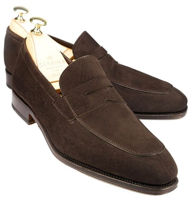 loafers suede