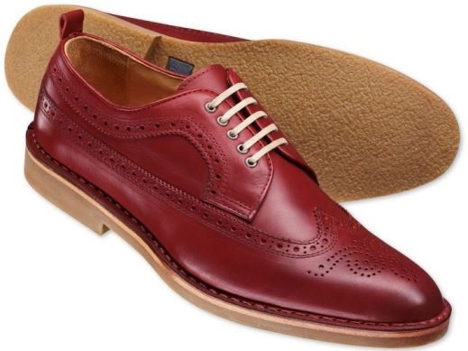 red brogue full wingtip