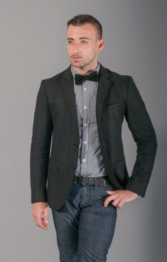 studio-shot-of-man-wearing-bow-tie