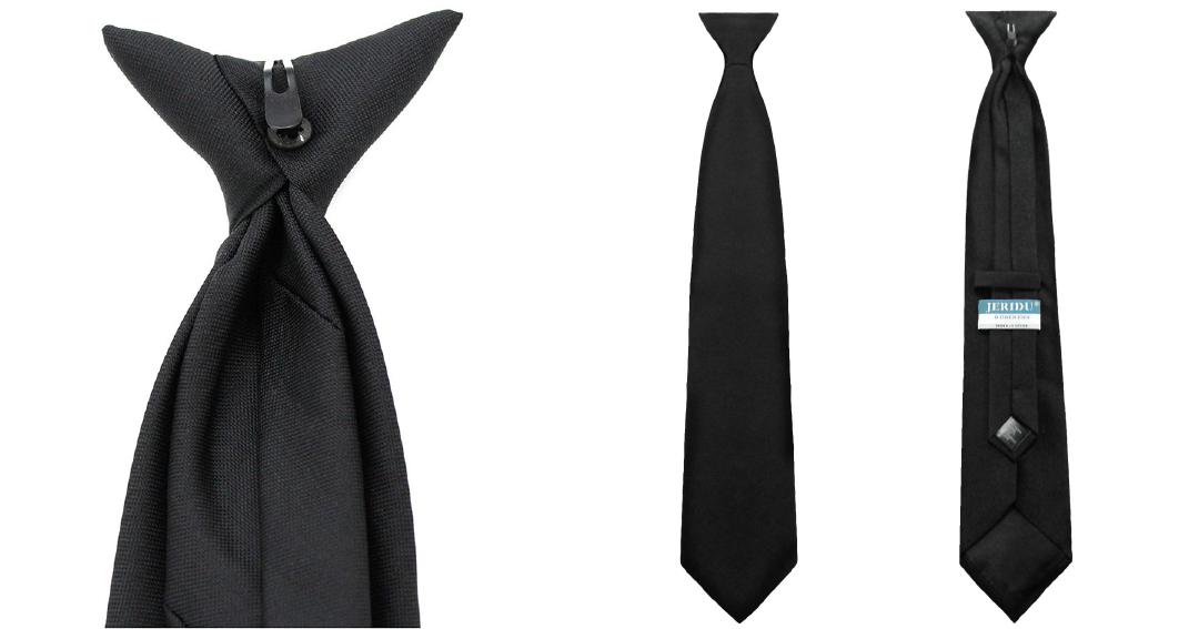 gravatas clip on